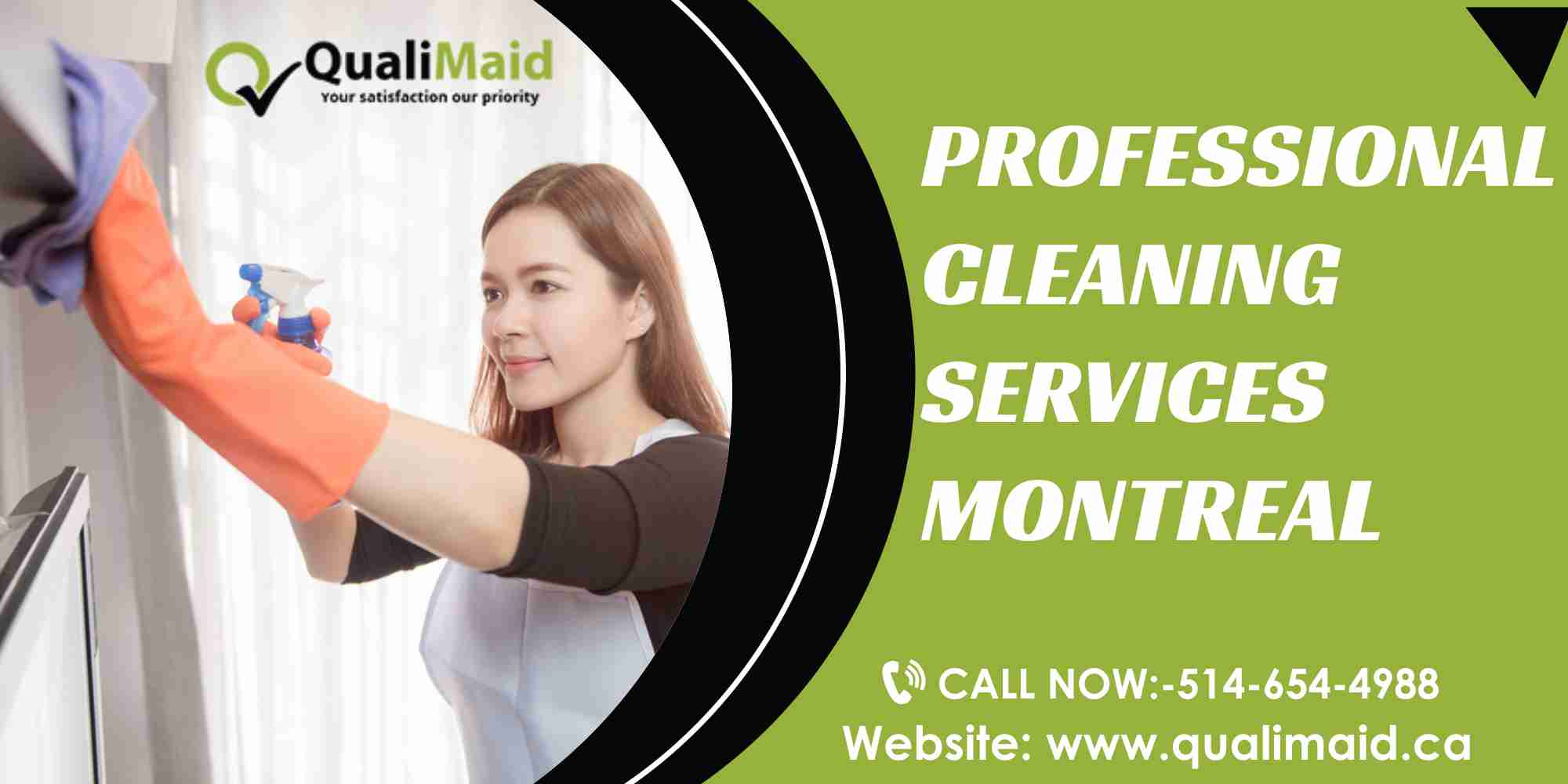 Professional Cleaning Lady Montreal and Longueuil