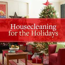 Clean this Holiday Season