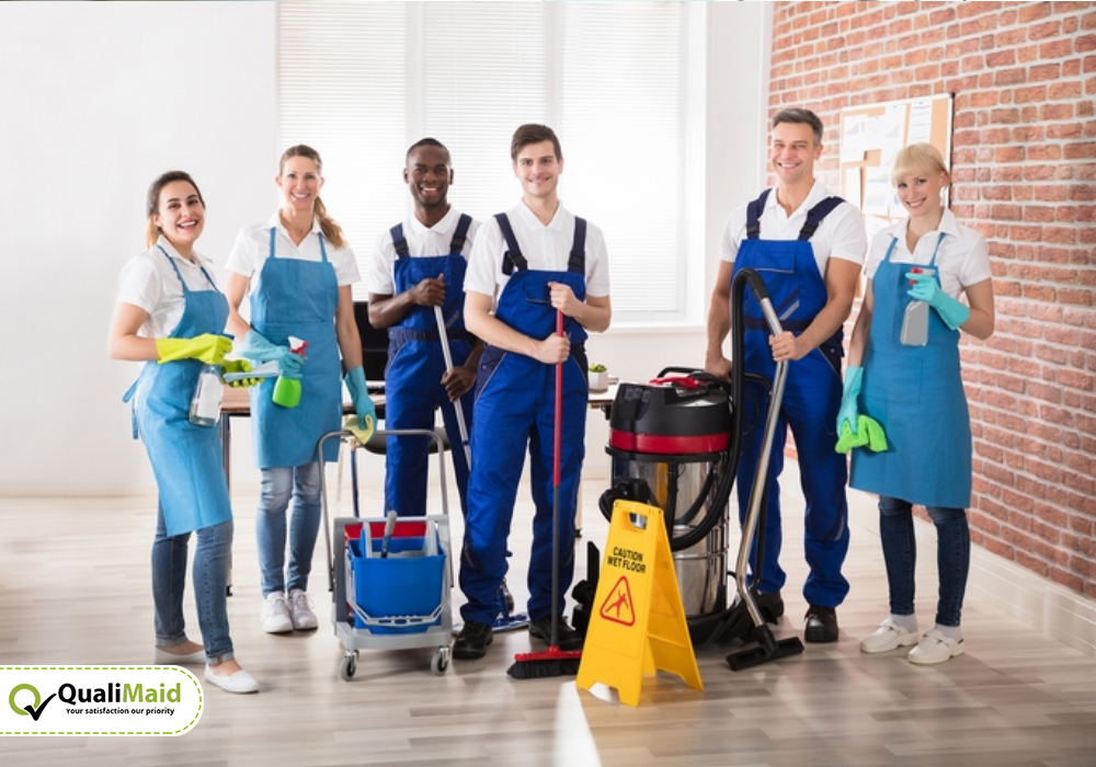 Cleaning Services You Can Expect From Us