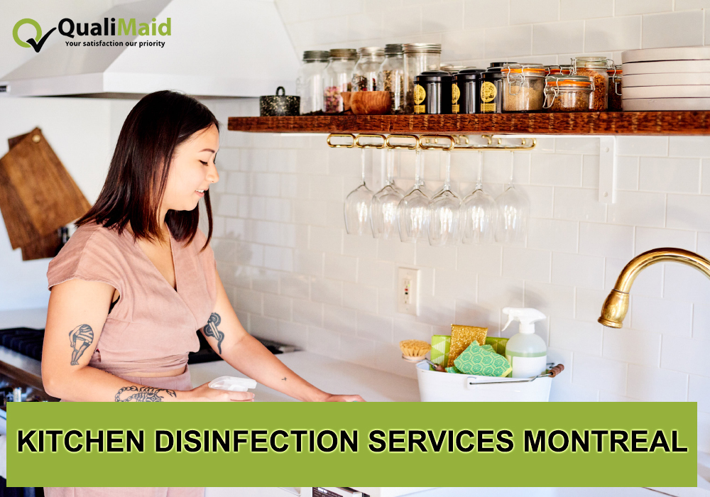 Kitchen Disinfection Services Montreal
