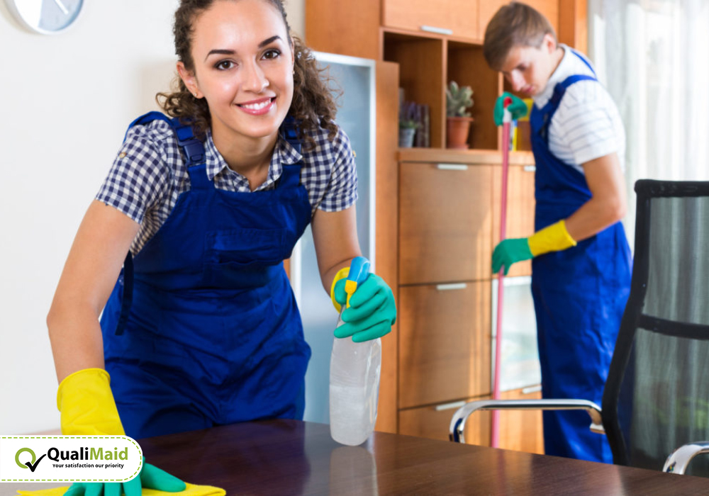 Our Step by Step Maid Cleaning Services
